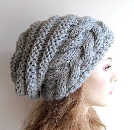Instant Download PDF Knitting Pattern Braided Cable by Lacywork