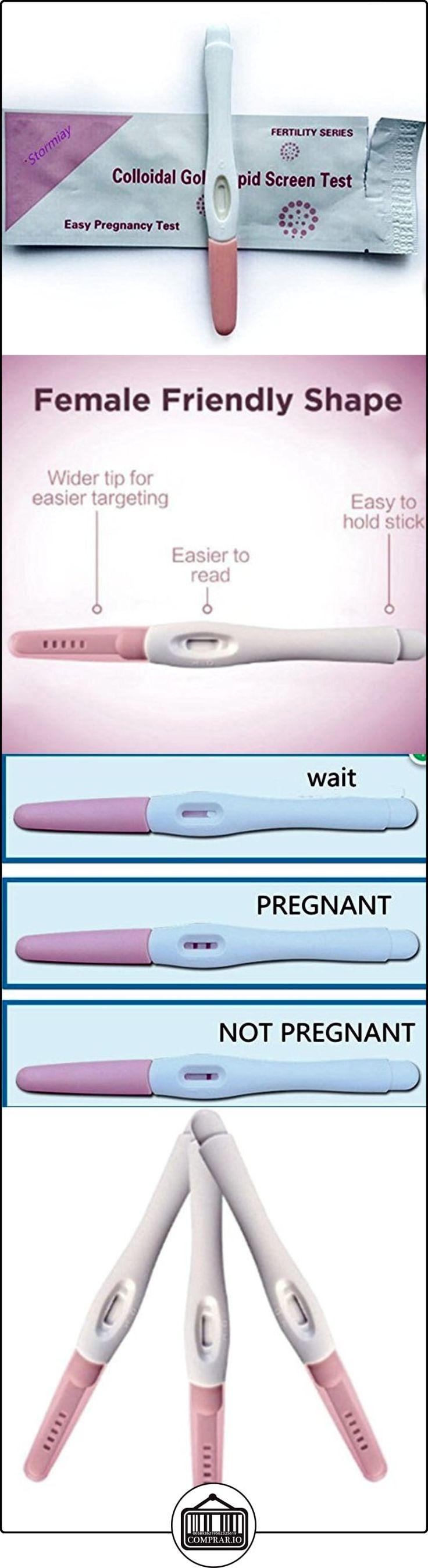 Stormiay 3 Paquete de Detección Temprana Resultado Prueba de embarazo Midstream Tiras de ensayo al inicio del embarazo  ✿ Seguridad para tu bebé - (Protege a tus hijos) ✿ ▬► Ver oferta: http://comprar.io/goto/B01IBCQ7VO
