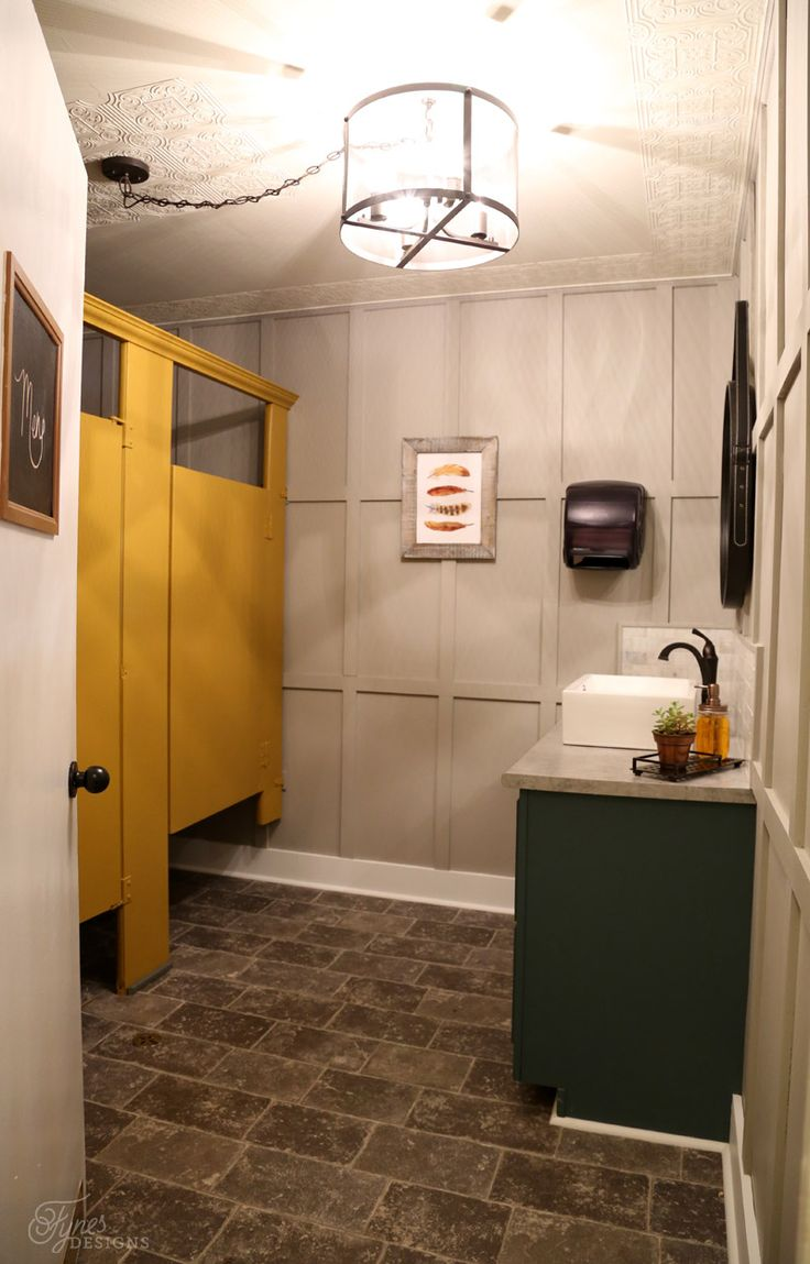 Do you need to use bathroom paint - Restaurant Bathroom Makeover