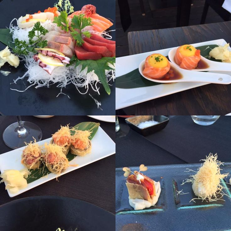 Great Sashimi and exotic dishes at Fingers in Porto Cervo