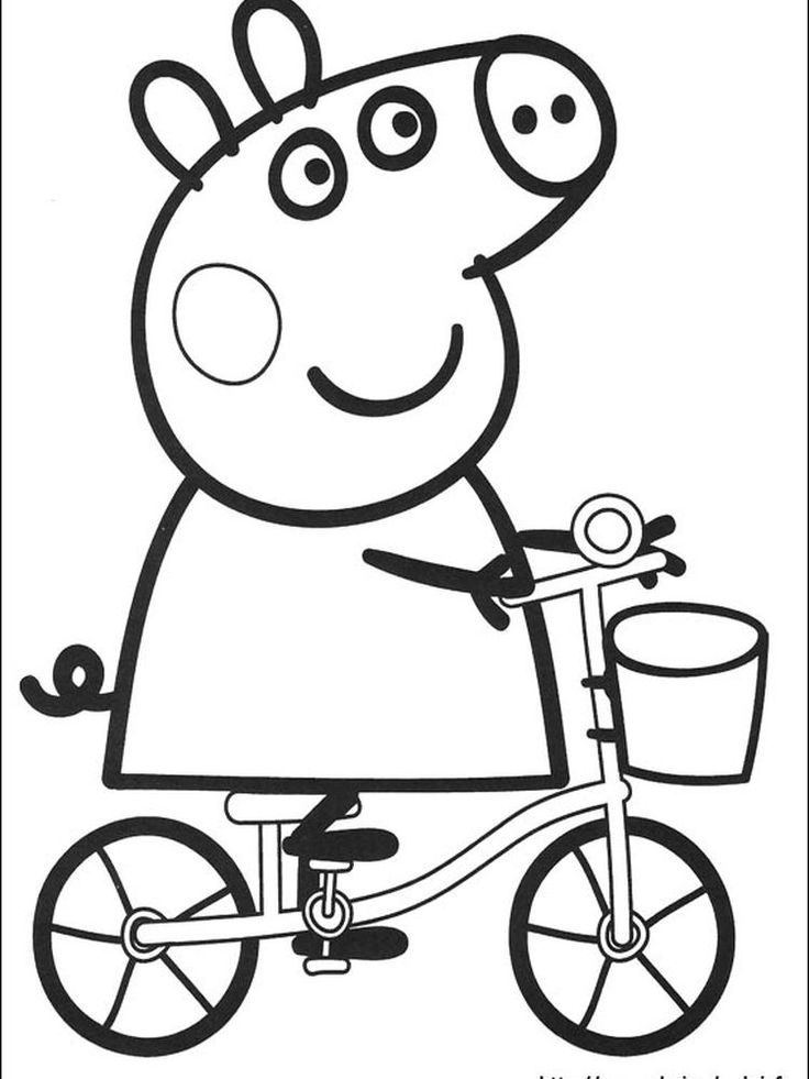 peppa pig coloring pages peppa coloring book. The ...