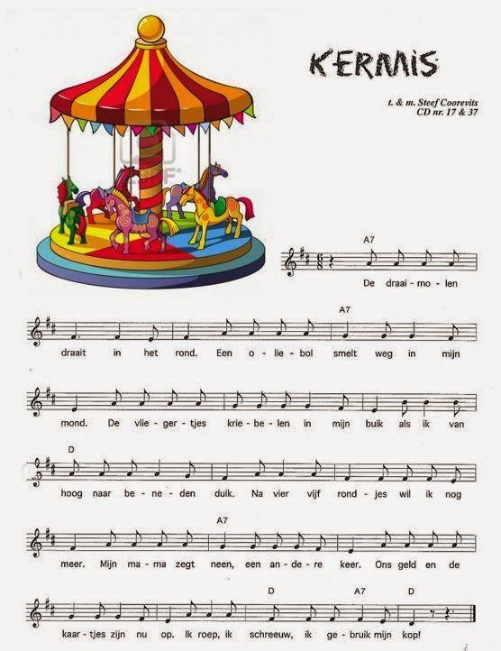 Kleuterschool Ondersteboven de boteraard: liedjes en versjes