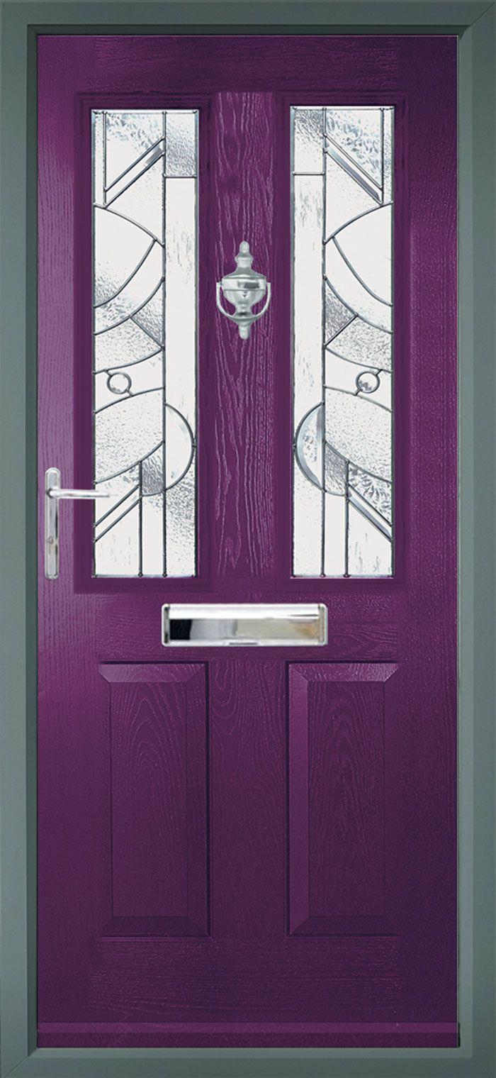 Composite Door Colours : Best images about l shades of purple paint colours on