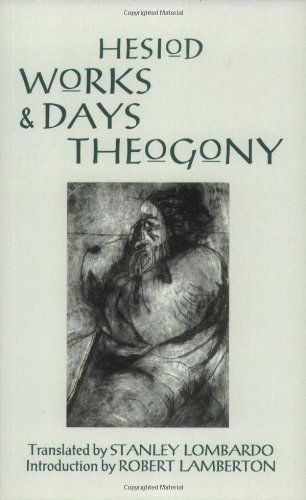works and days and theogony hackett classics pdf