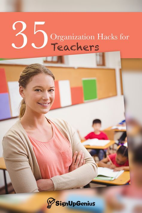 35 organization hacks for teachers to help manage your classroom communication/stations this year.