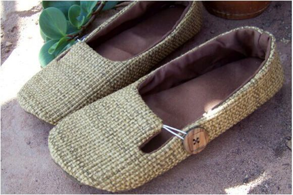 Make These Slippers With Easy Instructions