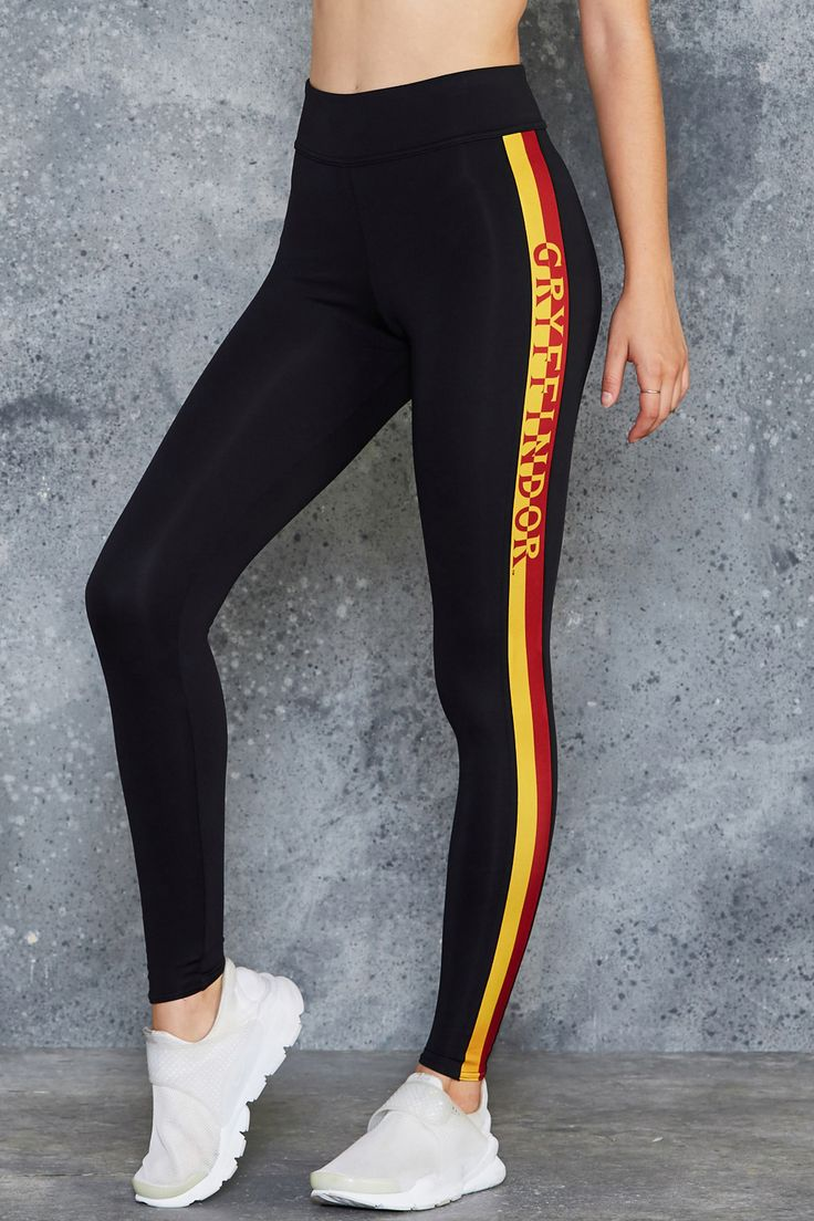 Gryffindor High Waisted Ninja Pants ($120AUD) by BlackMilk Clothing