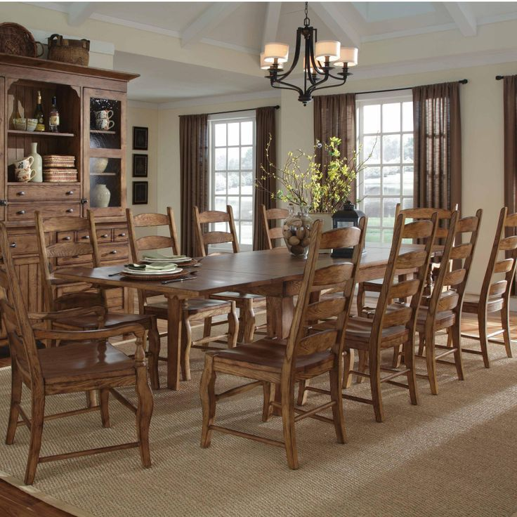 Homecoming Eleven Piece Dining Set By Kincaid Furniture