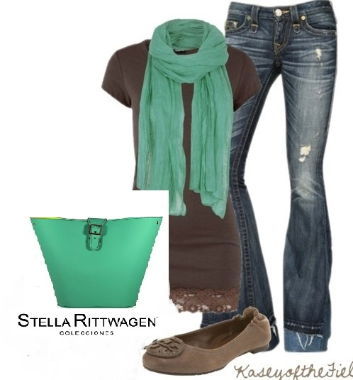 Casual outfit with Stella Rittwagen bag :)
