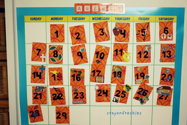 Kindergarten Year Calendar : Best preschool calendar images on pinterest