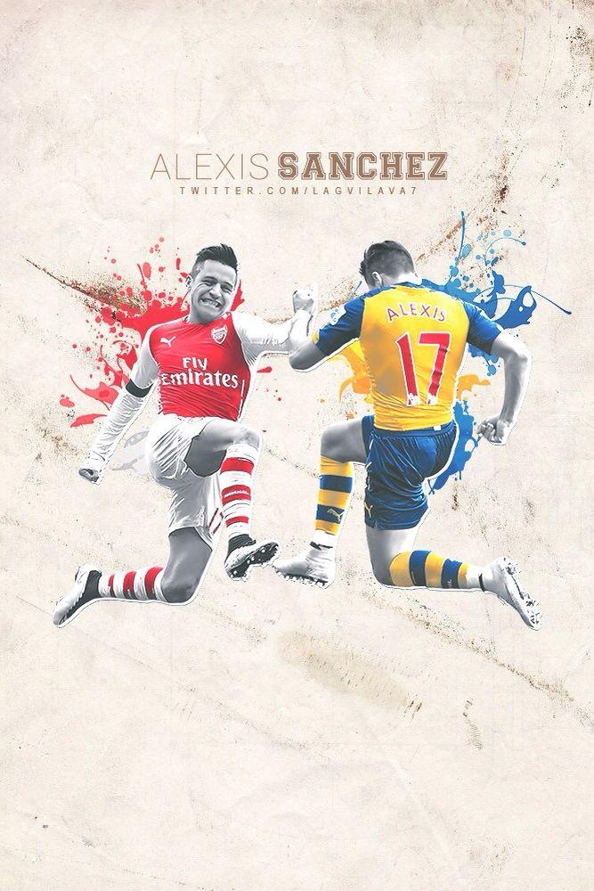 Alexis Sánchez. #COYG