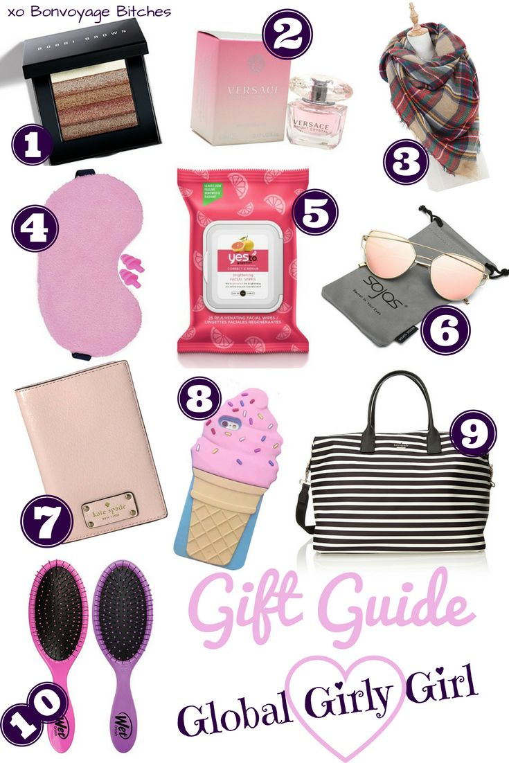 Gift Guide: Global Girly Girl |  http://bonvoyagebitches.com