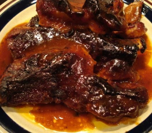 Melt in Your Mouth Barbecue Ribs