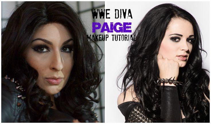 WWE Diva / Total Divas Paige Makeup Tutorial