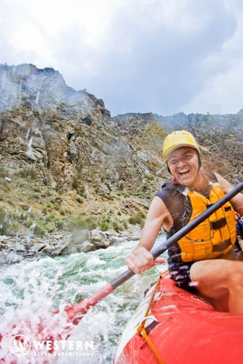 Exciting rapids will fill your days on this Western River Expeditions trip down Middle Fork!