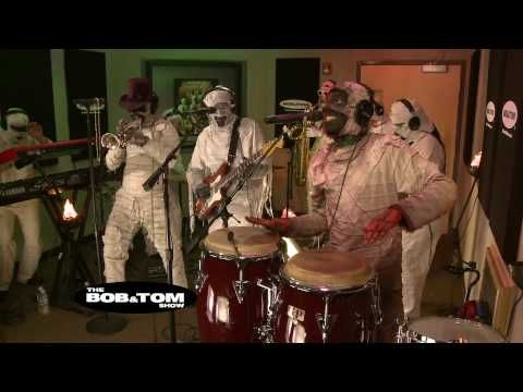 Dirty Minds - Here Come the Mummies  These guys are too good for gimmicks, but mummies aside, this song is dead sexy...