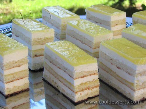 :: Просмотр темы - Десерты от Мишель. Лимонные пирожные