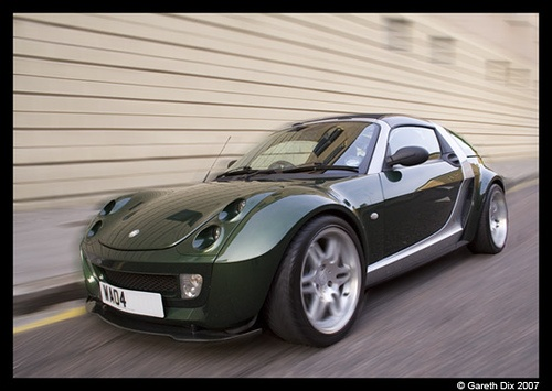 My Green Smart Roadster Coupe by GarethDix
