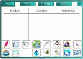 Resultado de imagen para estados de las materias solido liquido y gaseoso dibujos