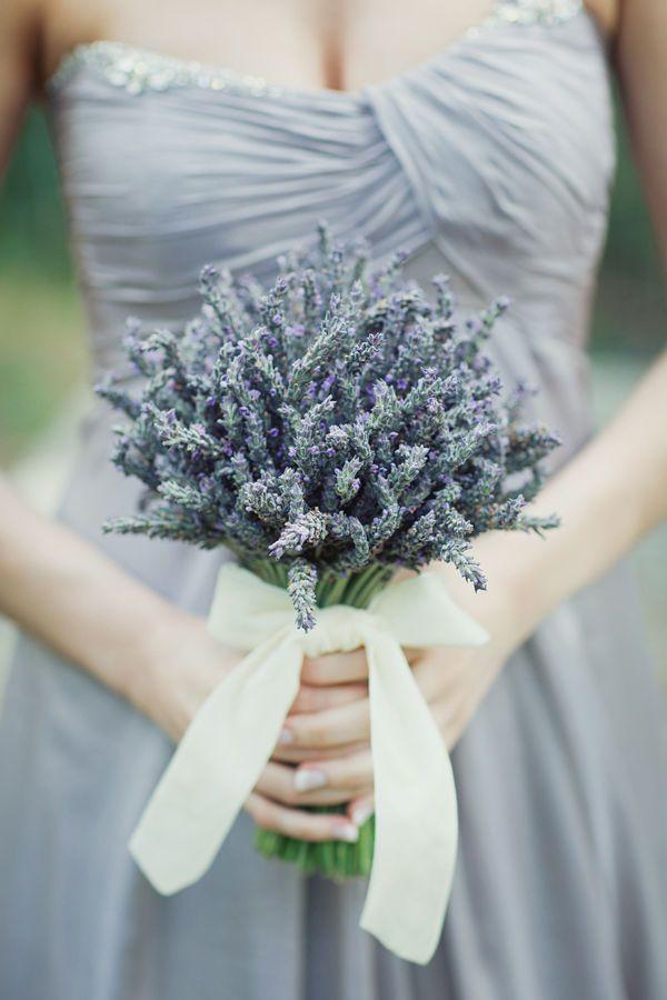 Lavender weddings - rustic!