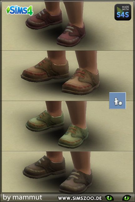 Medieval Ish Toddler Shoes By Mammut. Details And Download At The Simszoo  (free