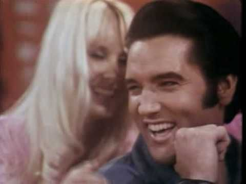 "Elvis, laughing version of Are You Lonesome Tonight (1969) Love his laugh, ""Do you gaze at your bald head and wish you had hair?""  Still makes me laugh every time..."