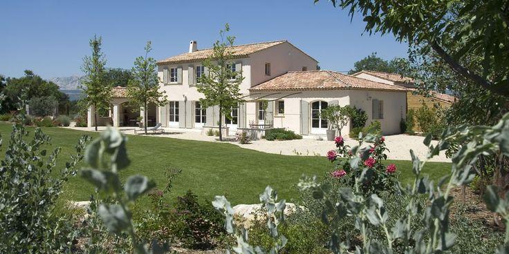 Exemple photo maison provencale moderne maison for Exterieur provencal