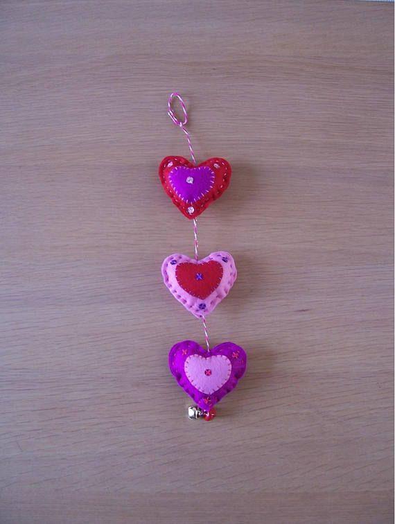 Felt Heart Craft Kit Diy Craft Kit Craft Supplies Etsymktgtool
