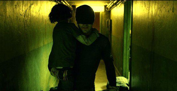 Daredevil (TV Series 2015– ) Matt rescues a kid