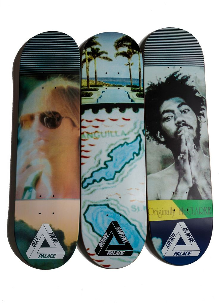 Palace Skateboards at SW.