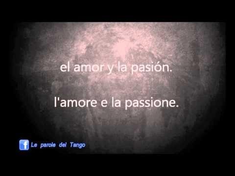 HISTORIA DE UNA AMOR - Traduzione in italiano