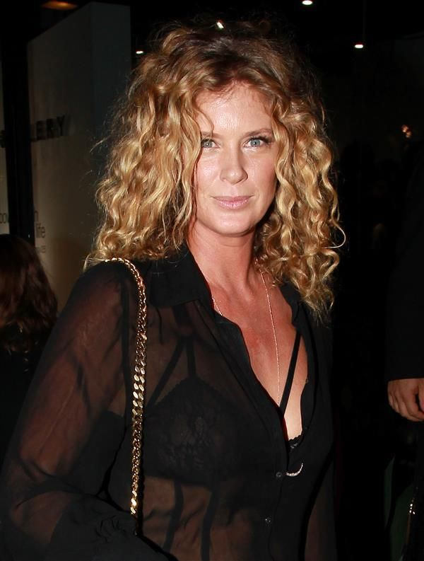 Rachel Hunter looks young at an event in Los Angeles in 2016 - Ageless wonders: Supermodel edition