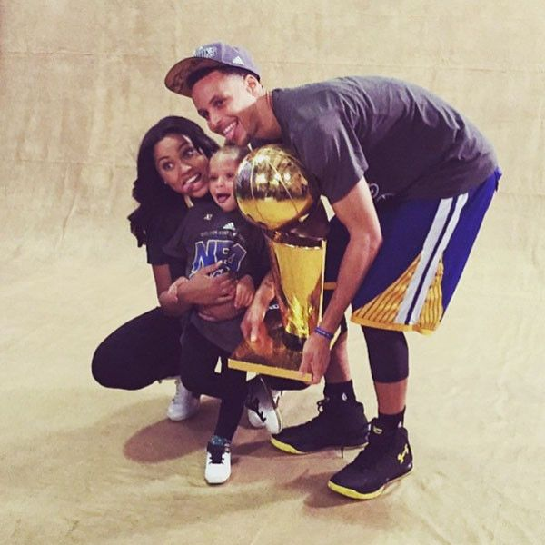 Barack Obama, Hugh Jackman and More Celebs React to Warriors' NBA Finals Win Over Cavaliers  Stephen Curry, Ayesha Curry, Riley Curry