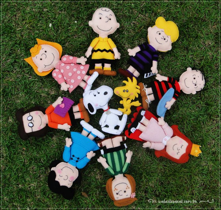 Peanuts Characters PDF Pattern Charlie Brown by walartesanal