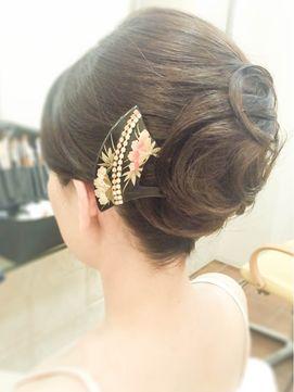 【2016年冬】和装夜会アップ/hair coucou 【クークー】のヘアスタイル
