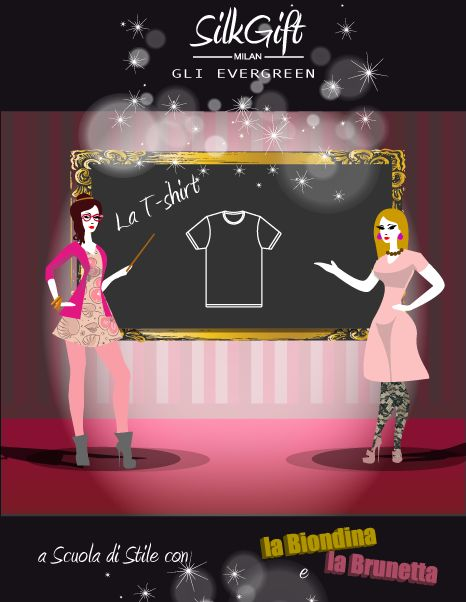 La t-shirt è un l'elemento fondamentale e di base di qualsiasi guardaroba, presente probabilmente in quasi tutti gli armadi del mondo, un vero e proprio evergreen. Scopri come indossarla durante il giorno, l'aperitivo o la sera grazie ai consigli di Silk Gift Milan su http://www.stilefemminile.it/capi-evergreen-la-t-shirt/