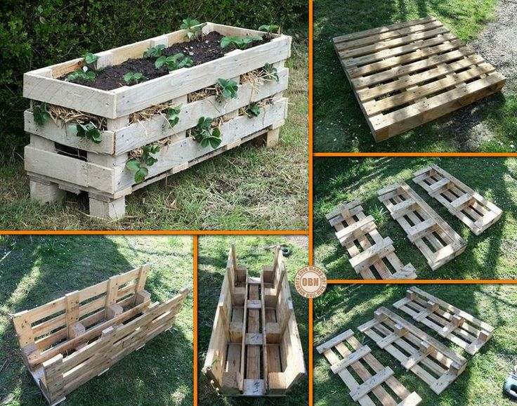 Grow your own strawberries with this DIY pallet strawberry planter! Got a spot for this in your garden? http://theownerbuildernetwork.co/3aof