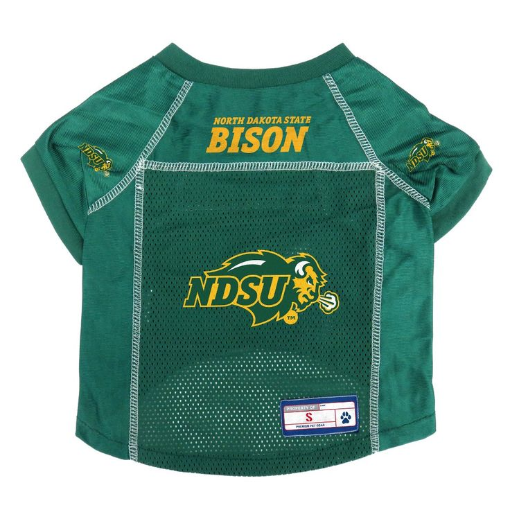 North Dakota State Bison Little Earth Pet Football Jersey - S,