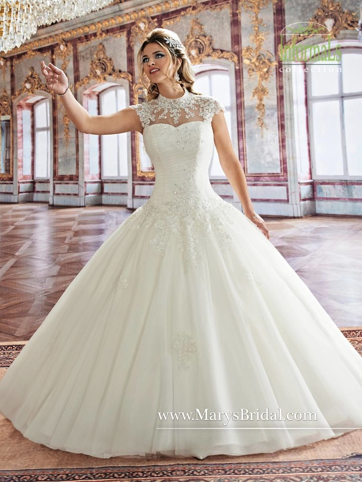 25 best Ball Gown Wedding Dresses - She Who Dares, Wins! images on ...