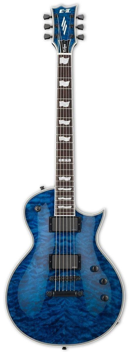 ESP E-II ECLIPSE QM Electric Guitar