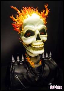 Ghost Rider cake: Cakes Creations, Death Rider, Decor Cakes, Cakes Inspiration, Amazing Cakes, Awesome Cakes, Rider Cakes, Cakes Decor, Halloween Cakes