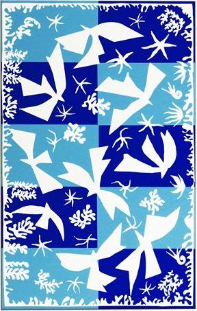Henri Matisse - Fauvisme - Polynésie, le ciel - 1946