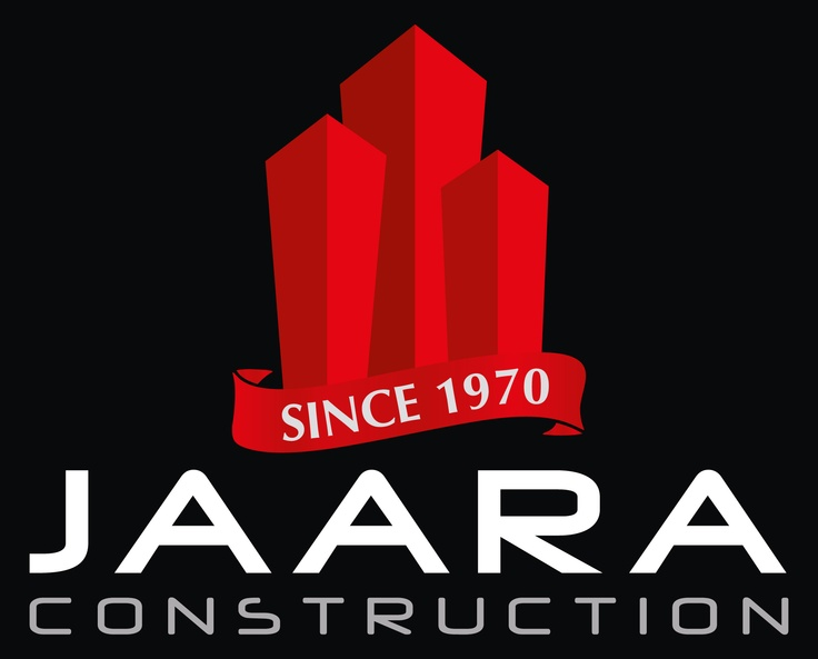 Logo made by iServiceslb.com for a construction company Called Jaara Construction