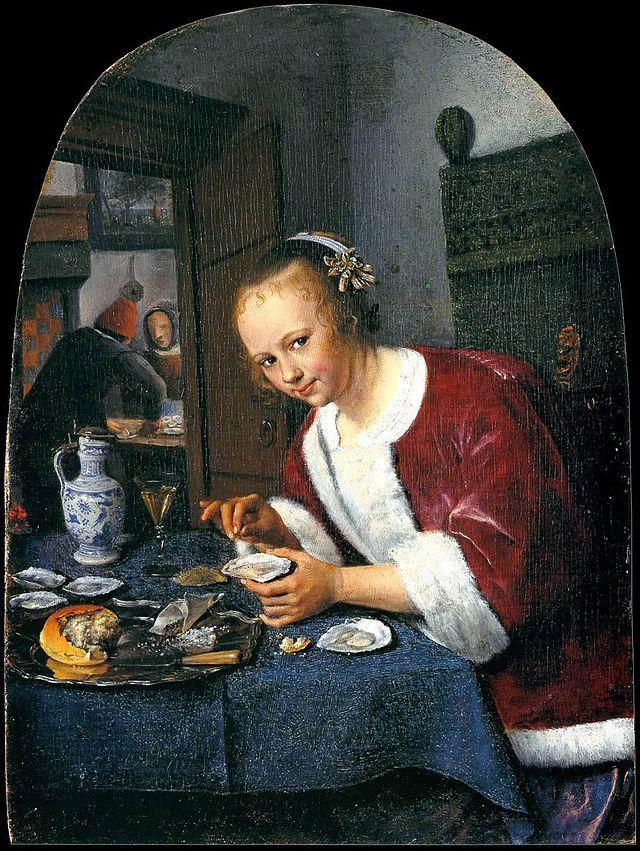 Jan Steen - Het oestereetstertje