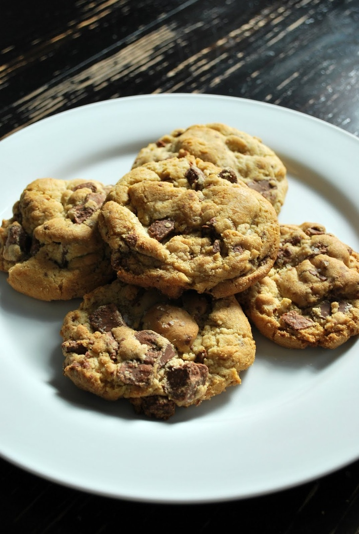 three square chef: Jacques Torres' Chocolate Chip Cookies