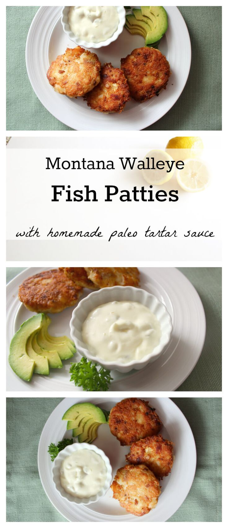 Every year our family took a trip Southern California to visit my grandparents, where they would treat us to a dinner out at Newport Beach's Crab Cooker.  My grandmother would order a G&T and always the Crab Cakes.  That tradition inspired a new Montana-Style family favorite: Fish Patties! Made with fresh-caught Walleye (though you can...
