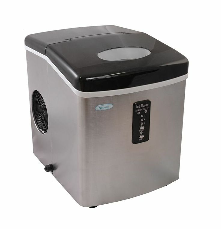 28 lb daily production portable ice maker portable ice