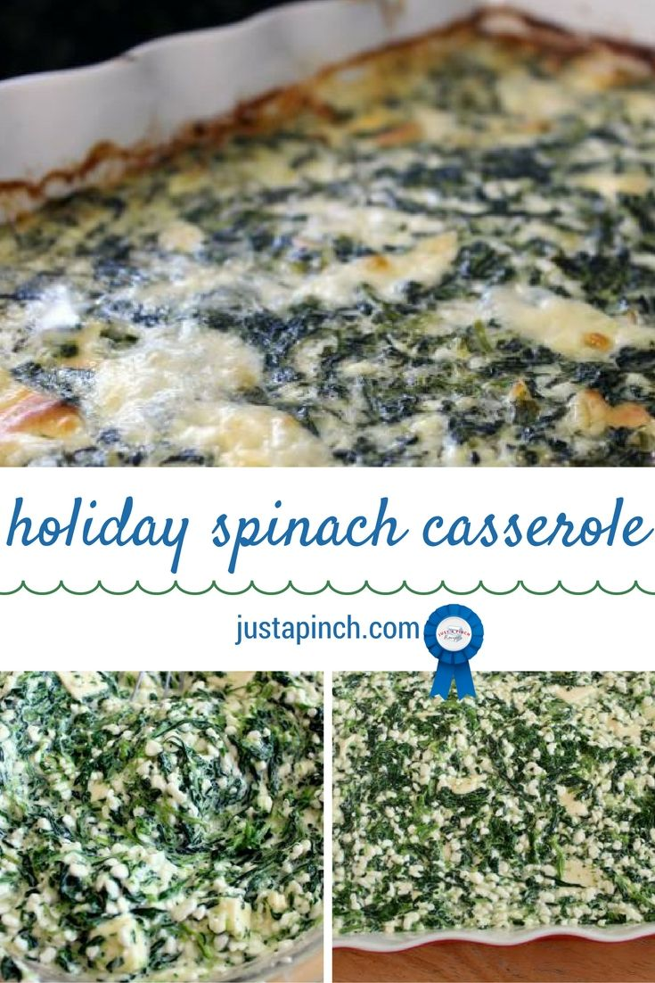 This casserole is so cheesy and creamy. The casserole with all the ingredients sort of sets like a soufflé. It's pretty easy to make, and I often make it for holidays.