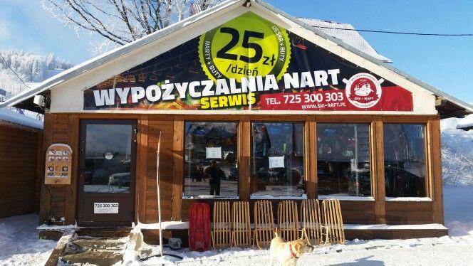 Wypozyczalnia nart w Zieleńcu w nowej odsłonie.