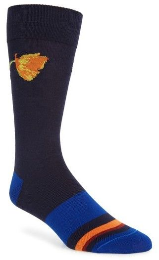 Paul Smith Men's Floral Socks